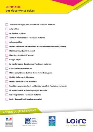 Sommaire Des Documents Utiles Pour Laccueil Individuel Des Jeunes