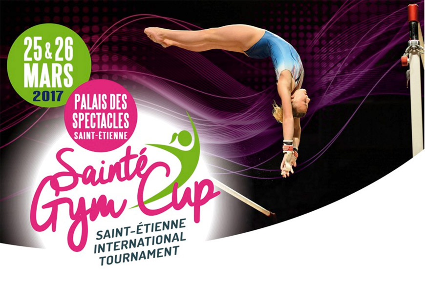 L'élite de la gymnastique artistique à Saint-Étienne