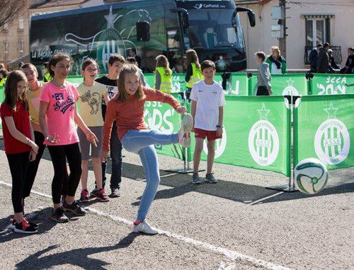 ASSE Kids' tour