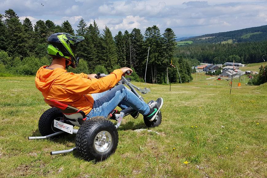 Le kart fait sensation cet été à Chalmazel