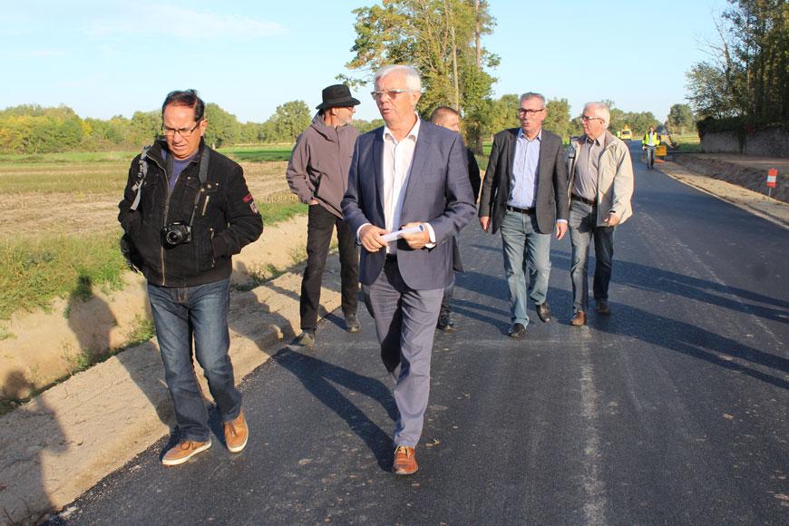 Élargissement et sécurisation de la RD10 à Valeille
