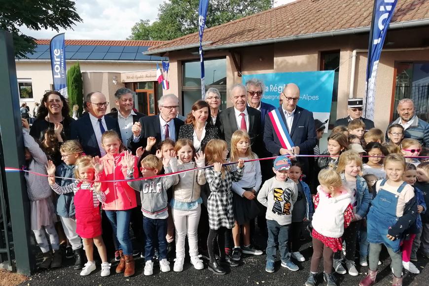 Les travaux de l'école de Notre-Dame-de-Boisset inaugurés