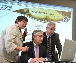 Les Archives départementales sont en ligne !