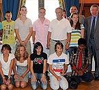 """39 jeunes athlètes """"En route pour Barcelone"""""""